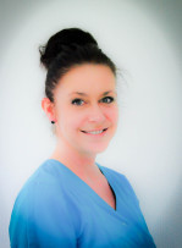 Chefassistentin, Angela Morbitzer, professionelle Zahnreinigung